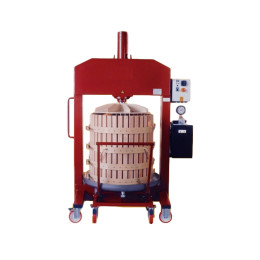 Bev-Tech basket press - pressoire verticale - pressa verticale (1)