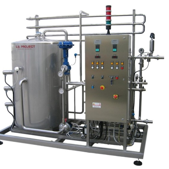 Bev-Tech flash pasteurizer – pasterizateur – pastorizzatore flash
