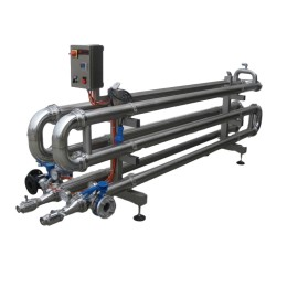 Bev-Tech multi  pipe exchanger - echangeur multitube - scambiatore multitubo MT (1)