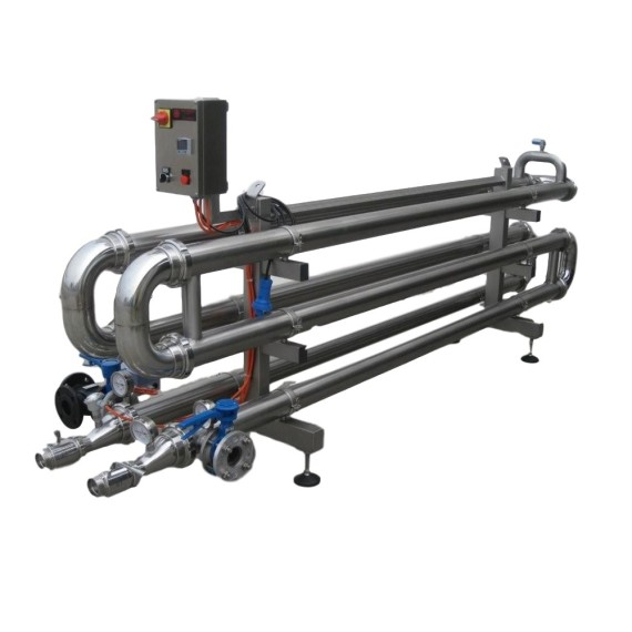 Bev-Tech multi  pipe exchanger – echangeur multitube – scambiatore multitubo MT (1)